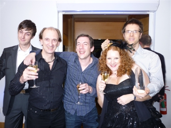 Judi-mae and colleagues at DADI Awards in 2009