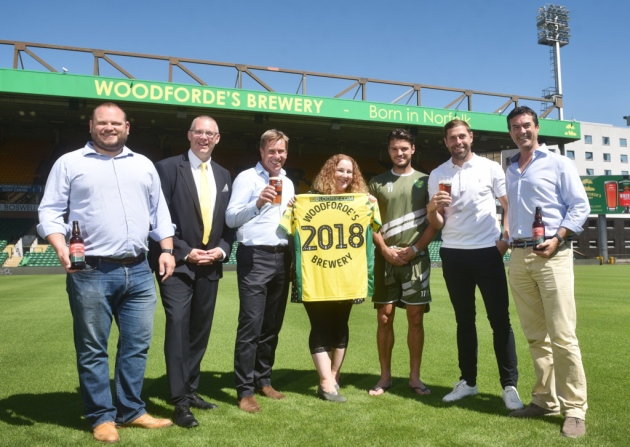 NCFC and Woodforde's Brewery, 2018